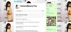 Tamera's Twitter Page