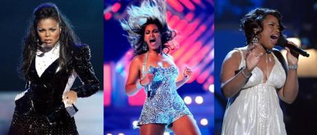 Janet Jackson, Beyonce, & Jennifer Hudson
