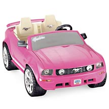 25 december 2009 statusmediaglobal for Motorized barbie convertible car